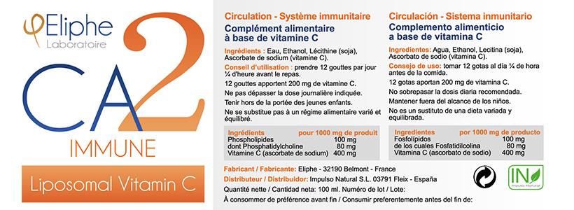 Complément alimentaire Eliphe CA2 Immune